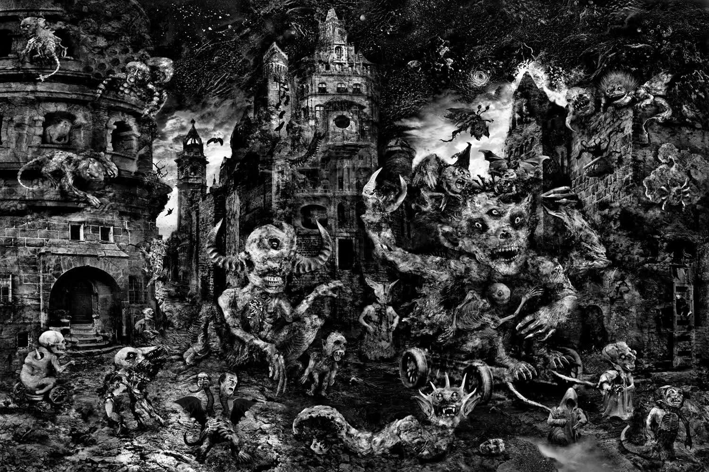 Baba Yaga Collage